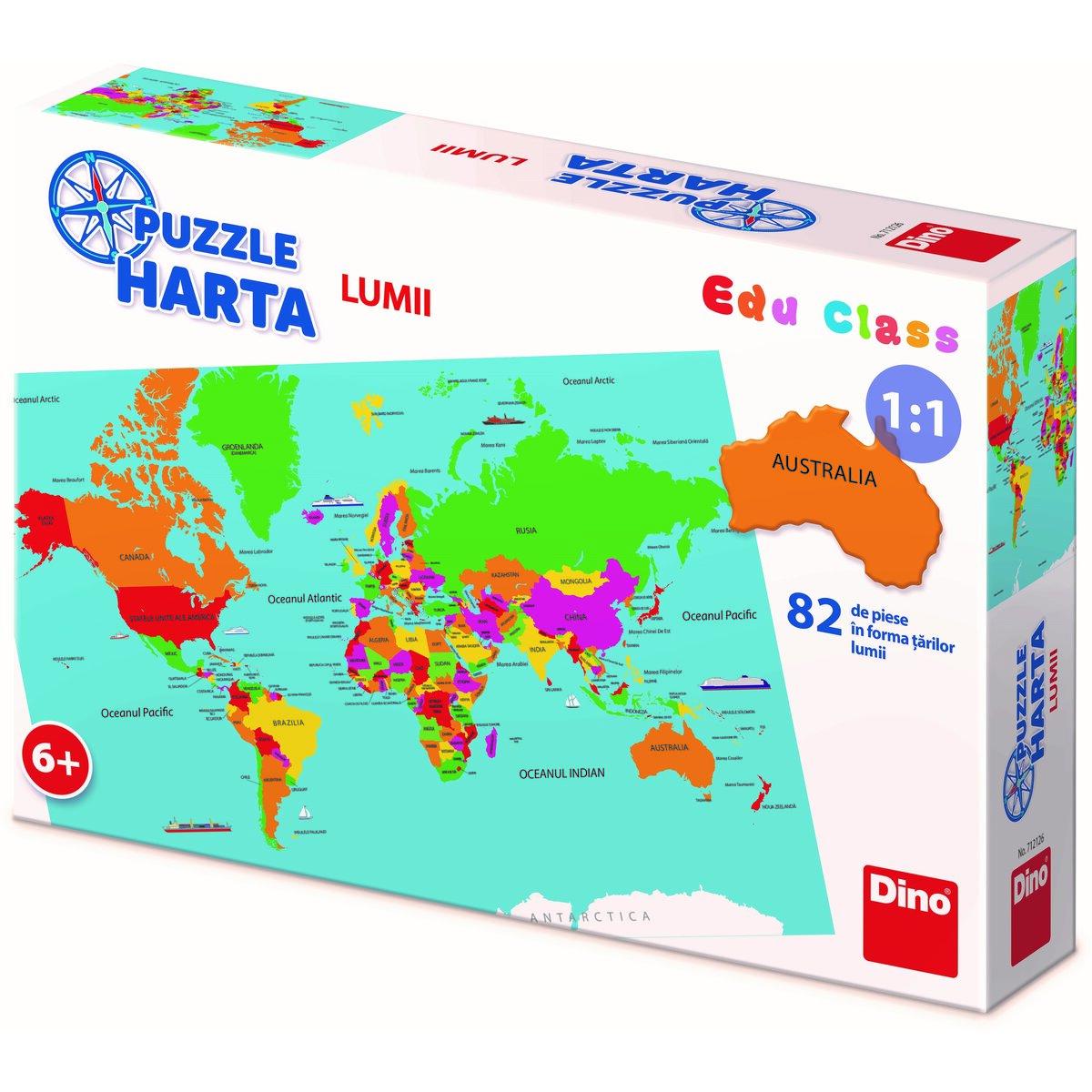 Harta Lumii 82 piese